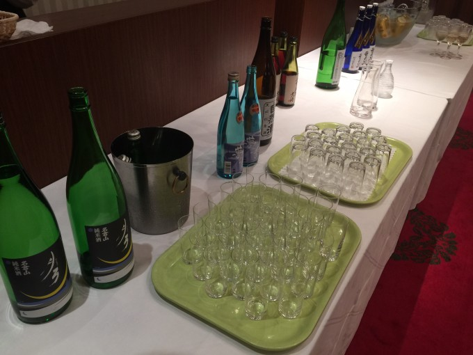 福島県の日本酒 地元会津のお酒もございました。