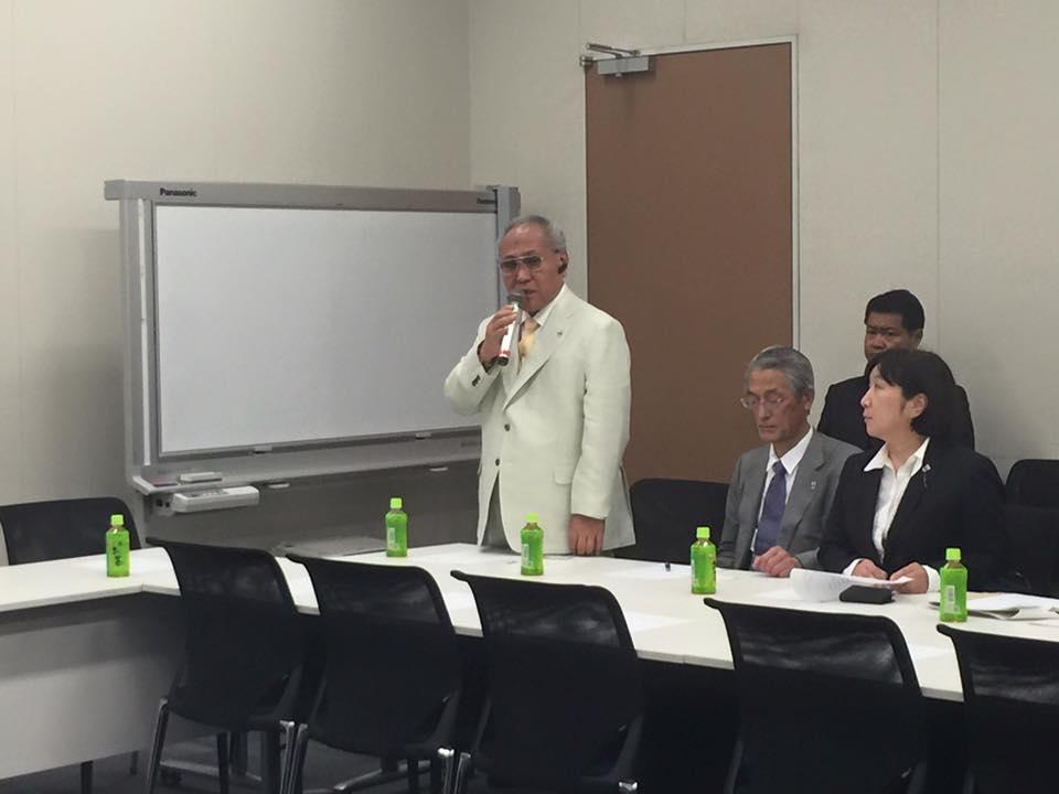 日本ボクシング連盟会長